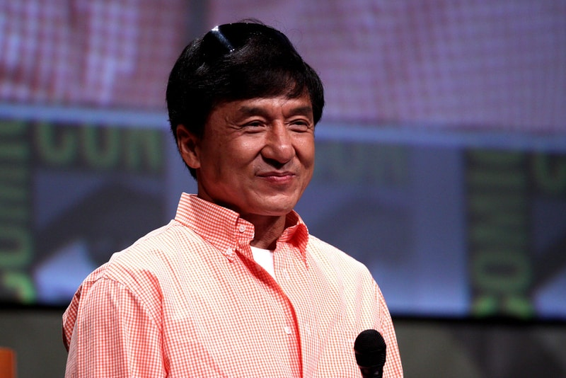 Jackie Chan ( Richest Hollywood Celebrities)