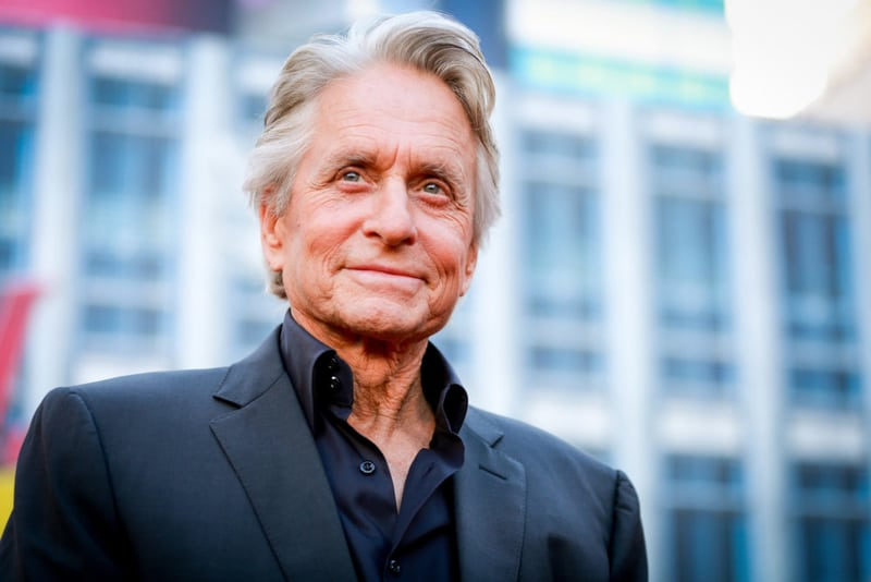 Michael Douglas Wealthiest Hollywood Actor