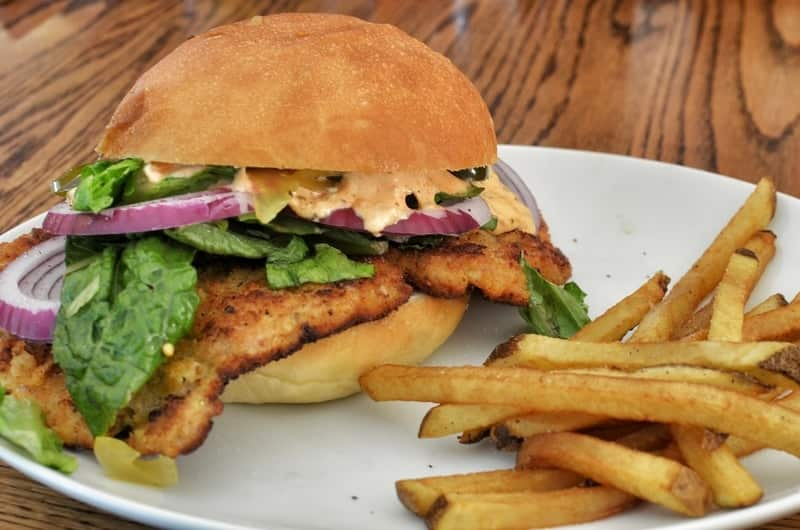 (Midwest) Breaded Pork Tenderloin Sandwich - Delicious American Sandwiches