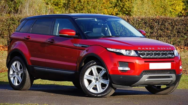 Rover Range Evoque - spacious cars