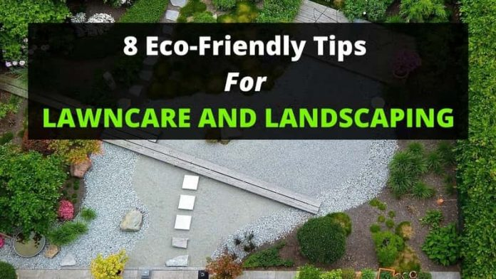 8 Eco-Friendly Tips for Lawn care and Landscaping