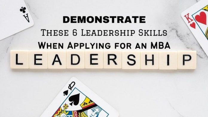 These 6 Leadership Skills